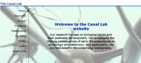 The Canal Lab homepage