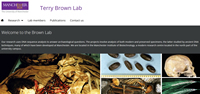 Terry Brown Lab homepage